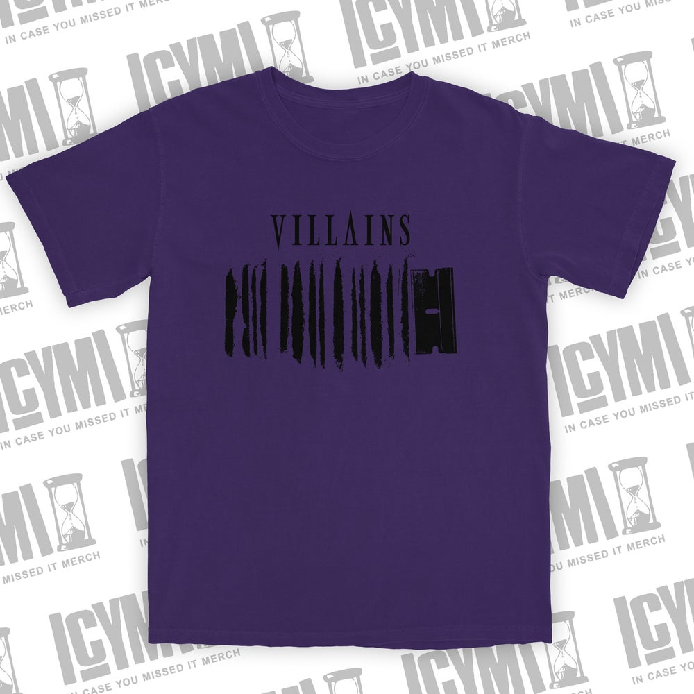 "Image of Villains ""Coke"" Tee Purple"