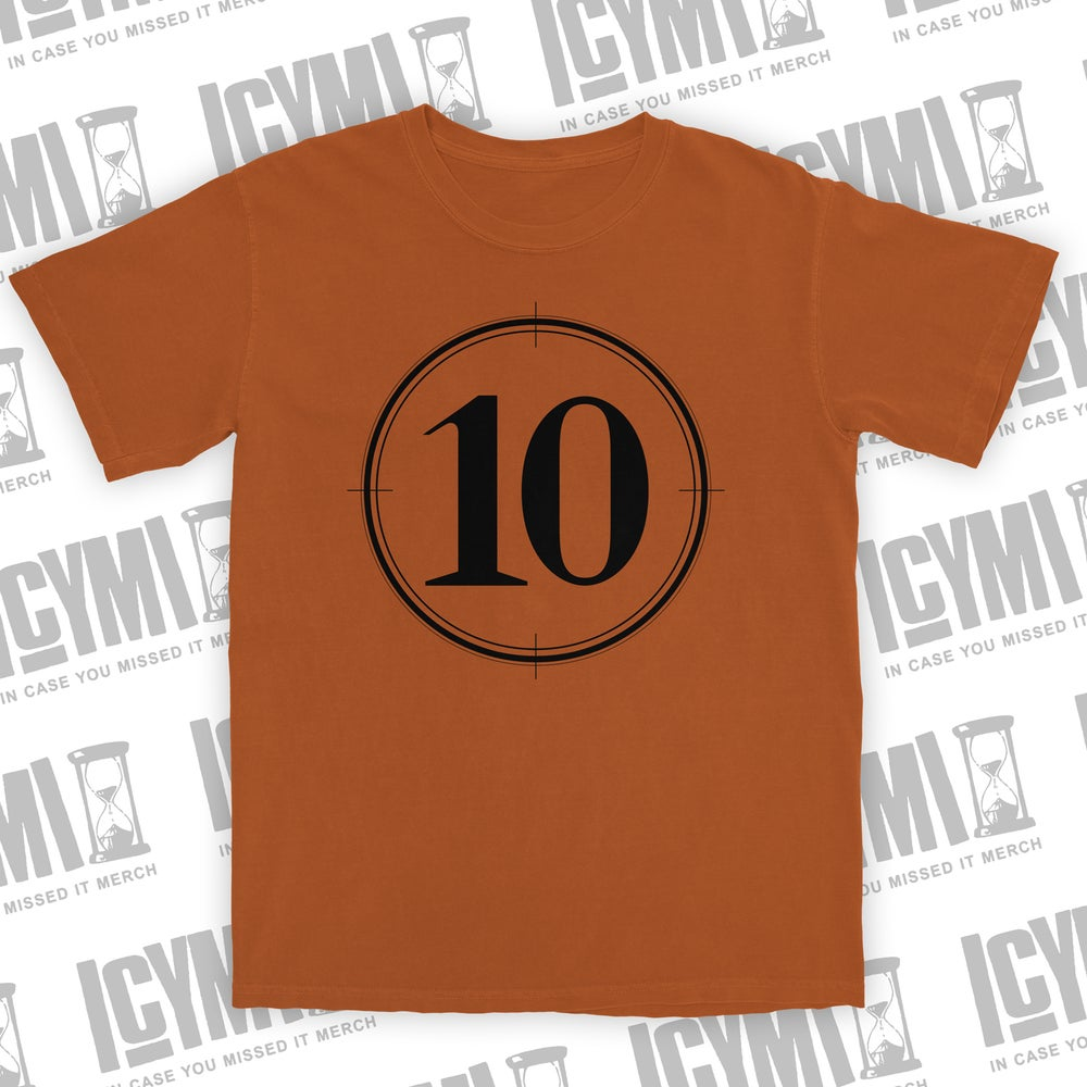 "Image of Villains ""10 Code"" Tee Orange"