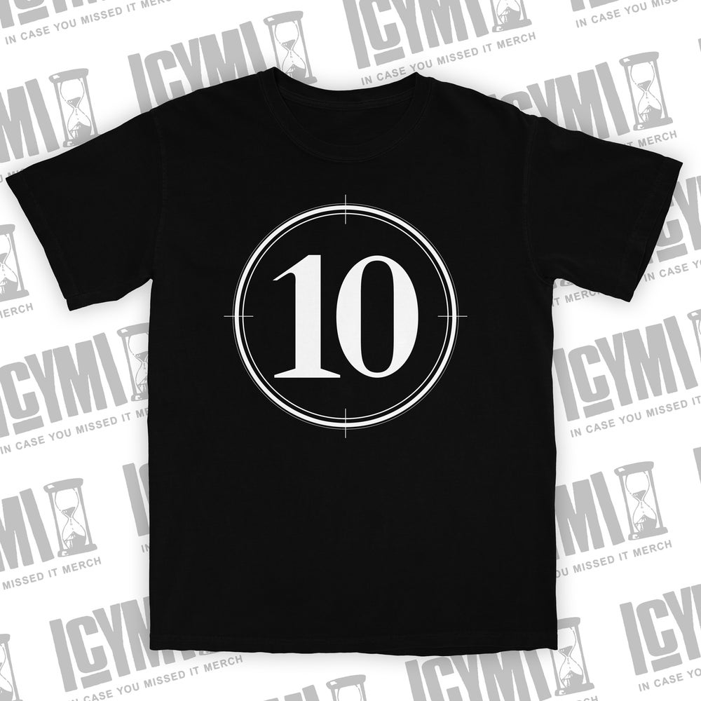"Image of Villains ""10 Code"" Tee Black"