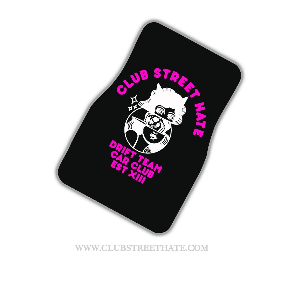 Image of CLUB FLOOR MATS (MADE TO ORDER)