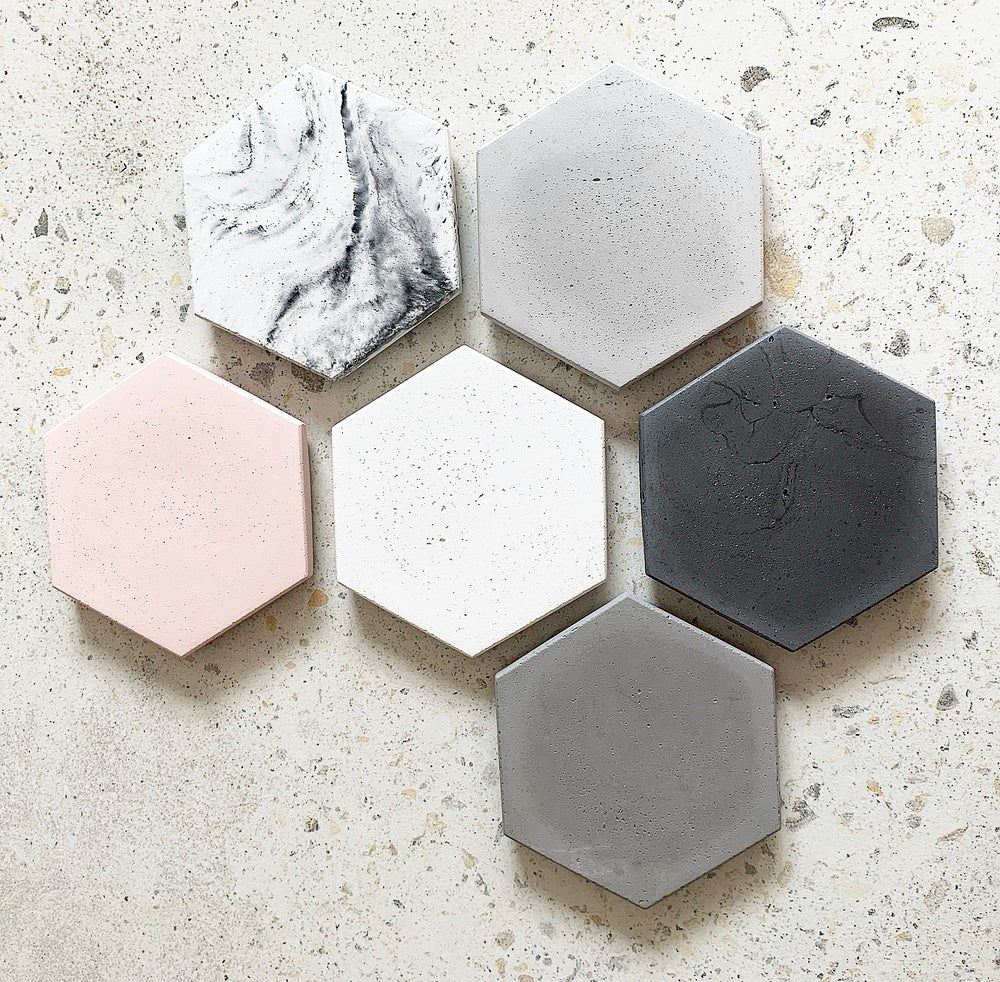 Image of HEX COASTERS