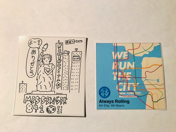 Image of Messenger 841 Sticker Romero Item Japan  & We Run The City