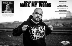 """Image of Krazy Race """"Mark My Words"""" CD + Poster"""