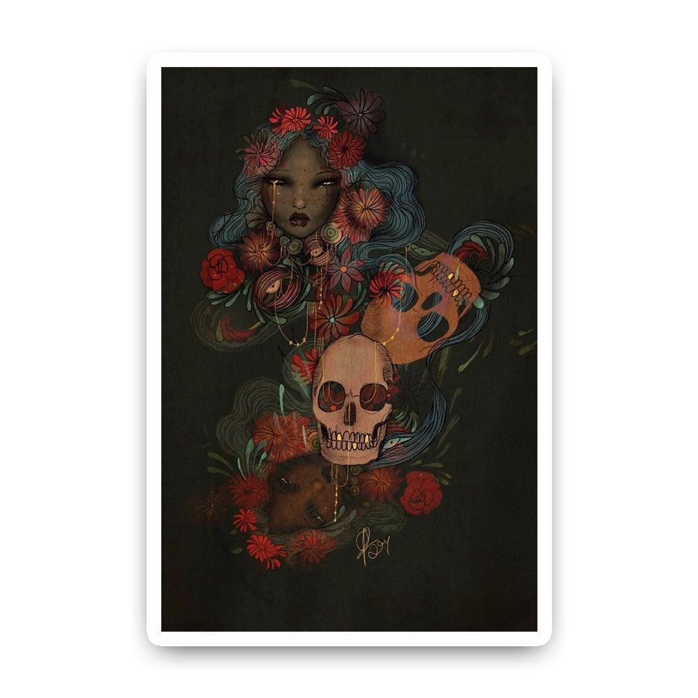 Image of Forbidden love A4 print