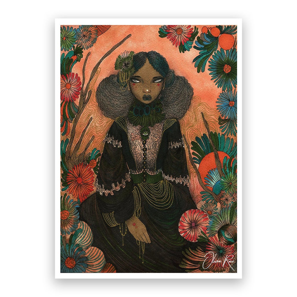 Image of Mary A4 print