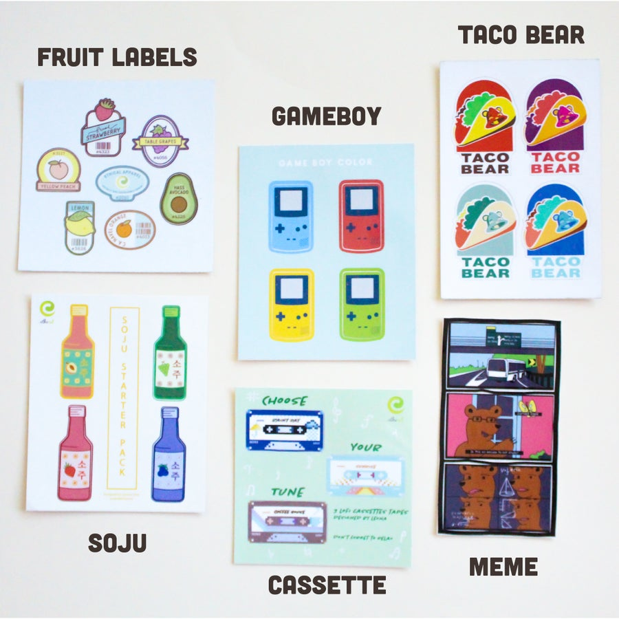 Image of Sticker Packs ($3)