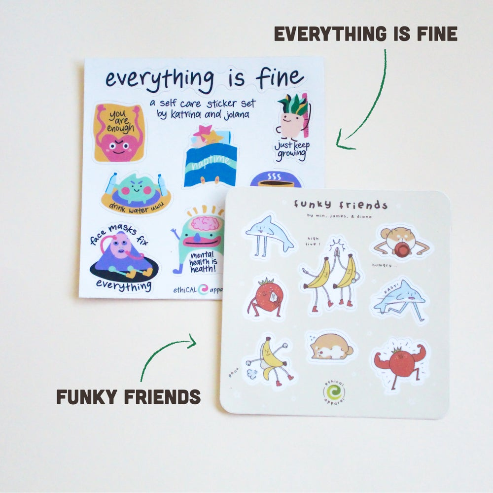 Image of Sticker Packs ($5 each)
