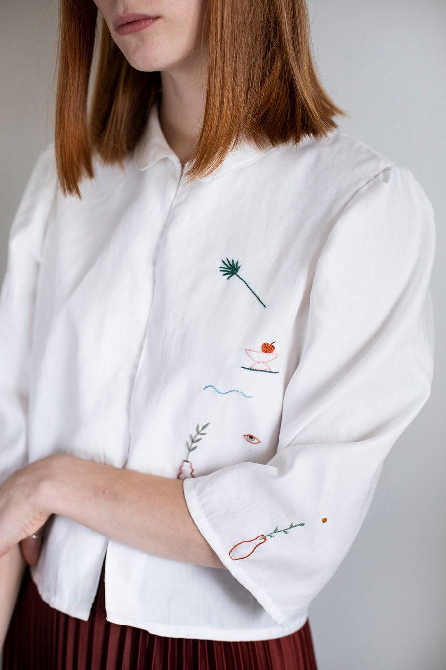 Image of Pre-order: Arinna shirt - 1st Damaja designed shirt, made of 100% organic cotton in Berlin