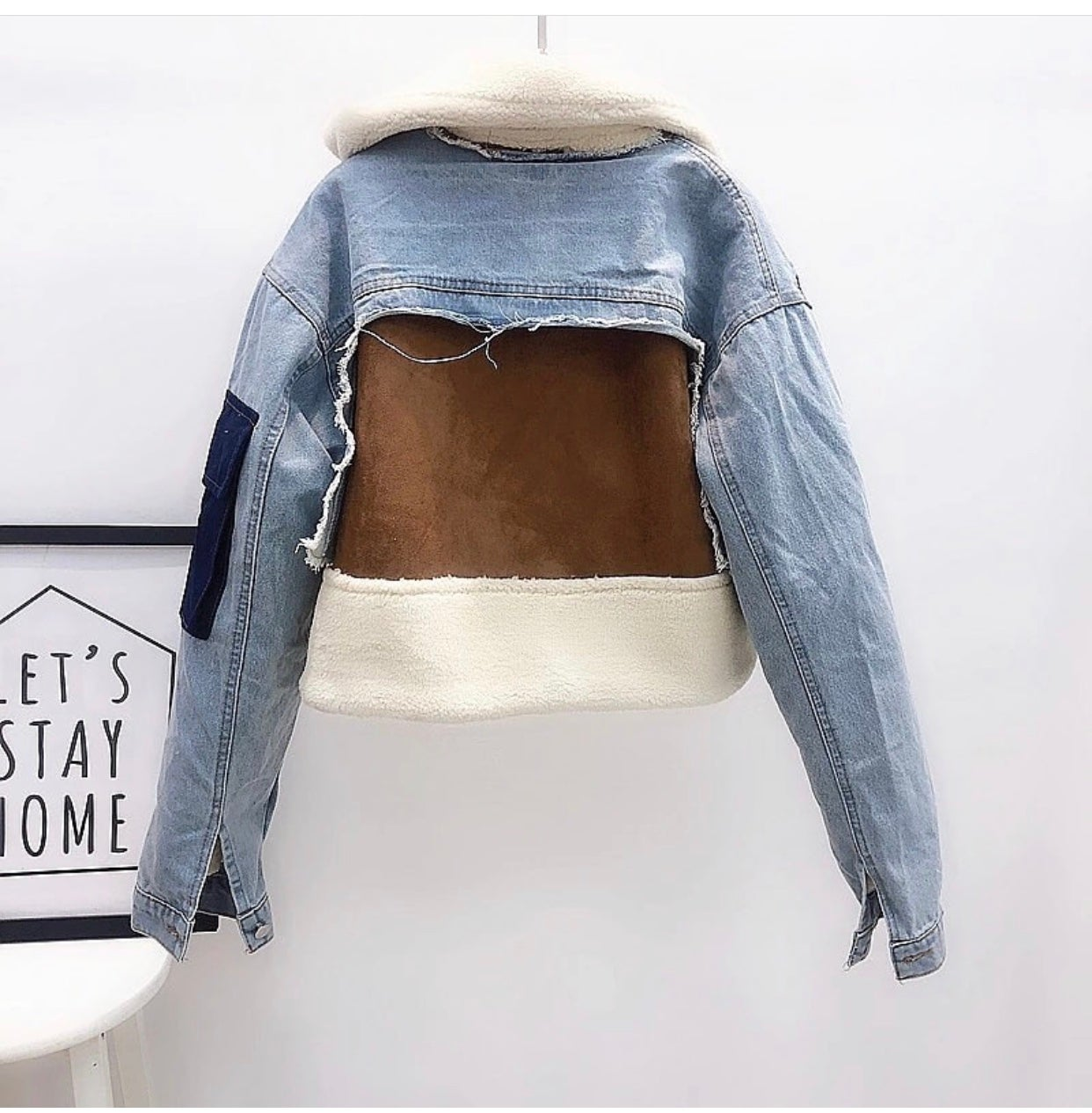Image of PATCHED UP DENIM COAT