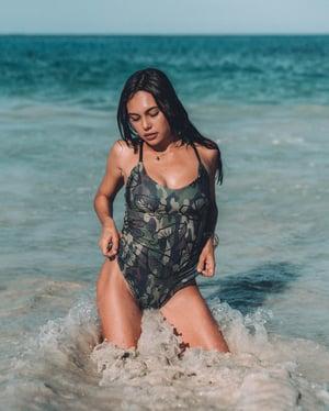 Image of Nicole No.2 ~ HALOA X CAMO