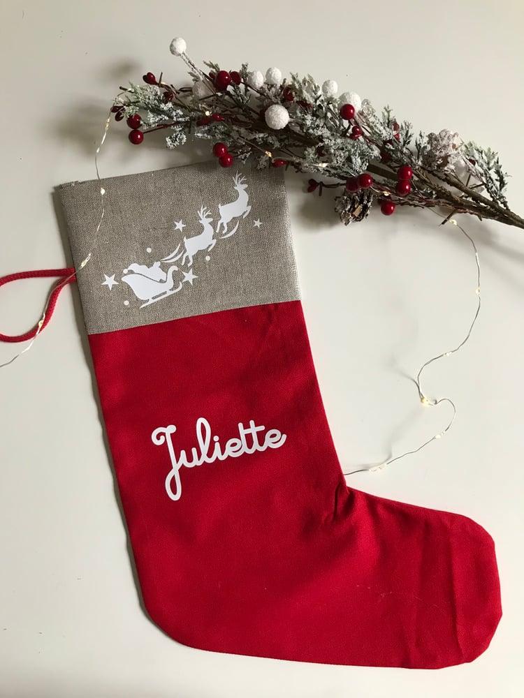 Image of Chaussette de Noël personnalisée / Xmas Socks