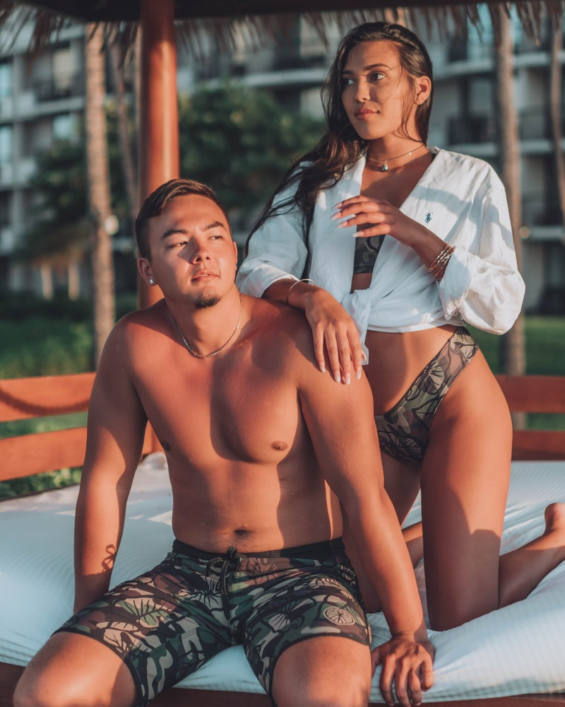 Image of Keola Surf Shorts ~ HALOA X CAMO