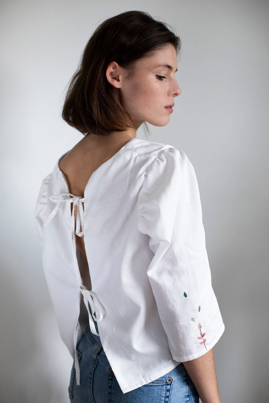 Image of Pre-order: Margareth shirt - 2nd Damaja designed shirt, made of 100% organic cotton in Berlin