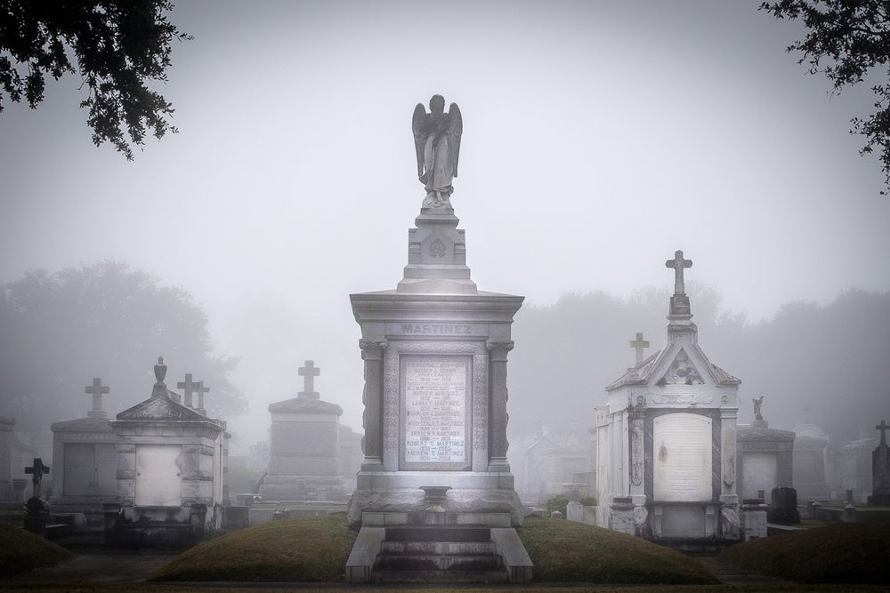 Image of Martinez  / New Orleans Cemetery Print