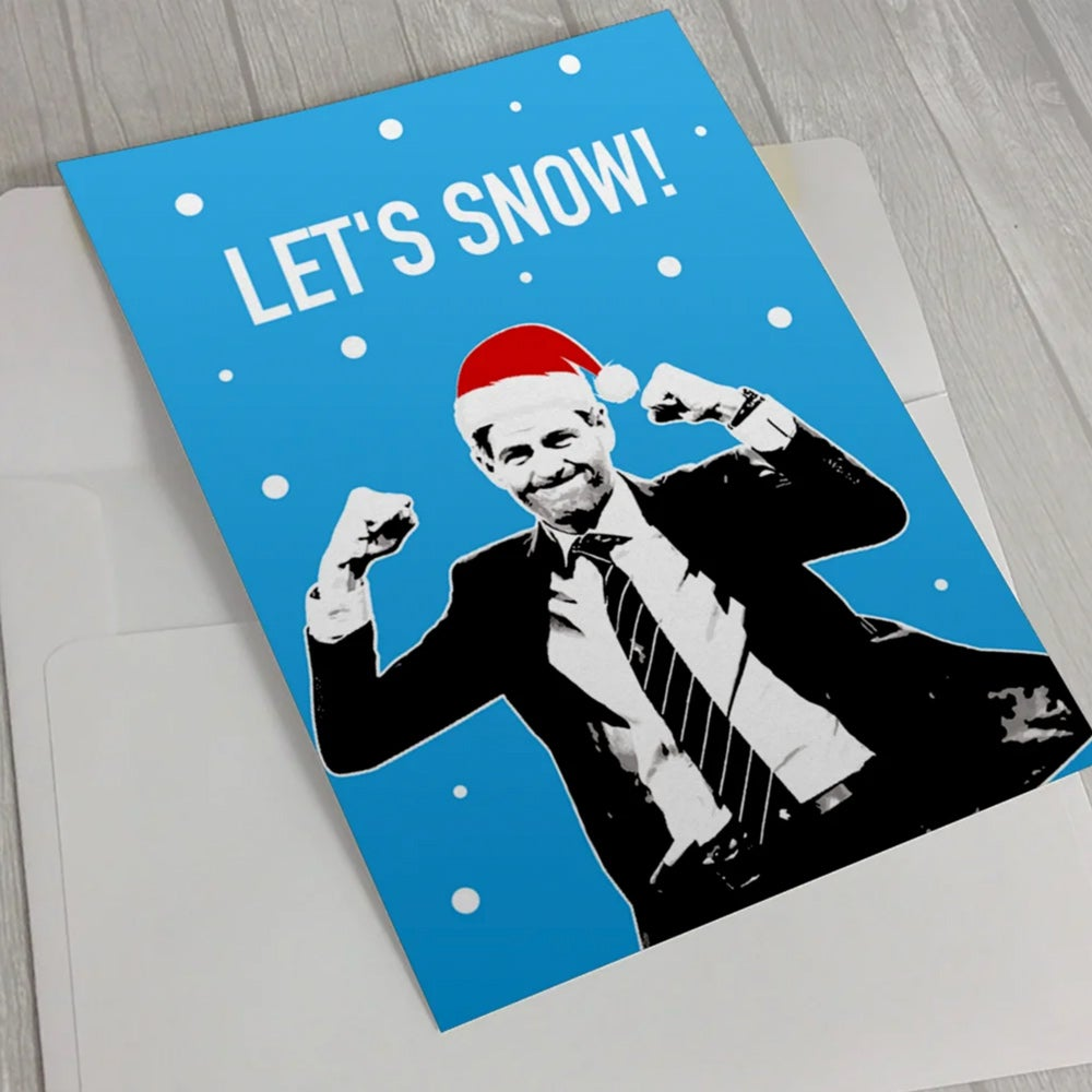 Image of Steven Gerrard, Let's Snow!