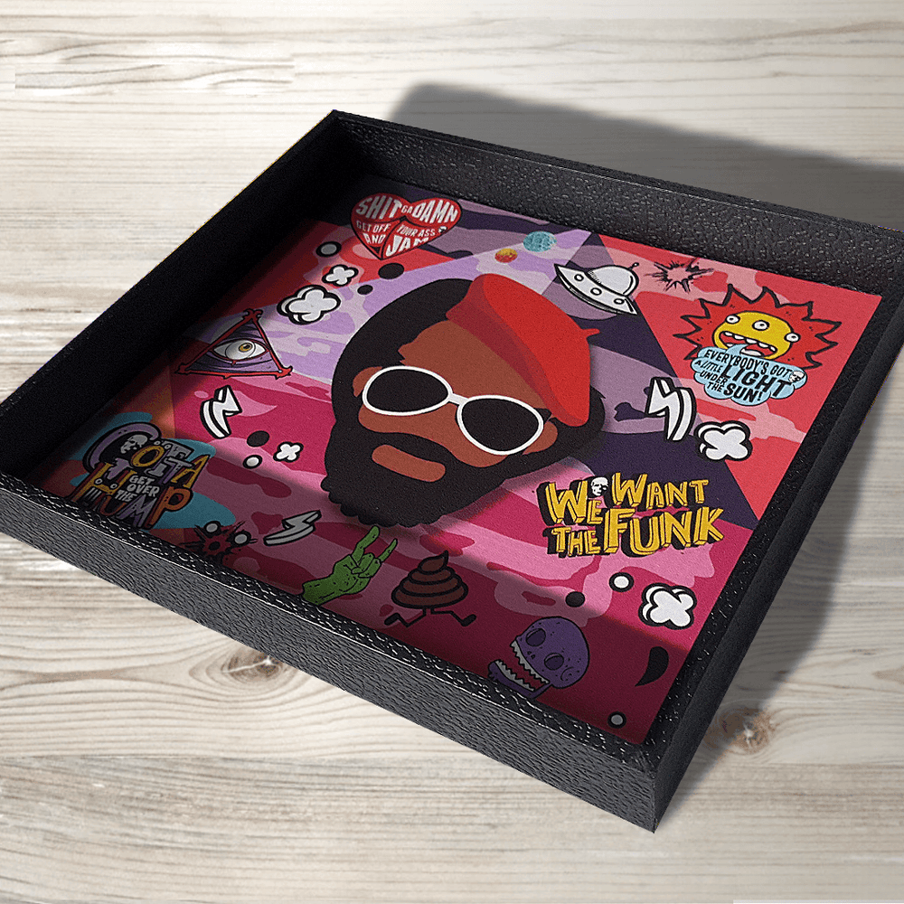 Image of Desk/Valet/Rolling Tray Gift Set<br>UNCLE JAM