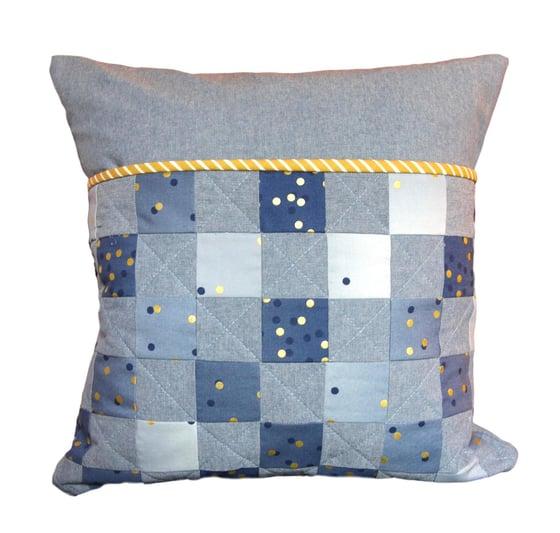 Image of Ombre Confetti Checkerboard Reading Pillow