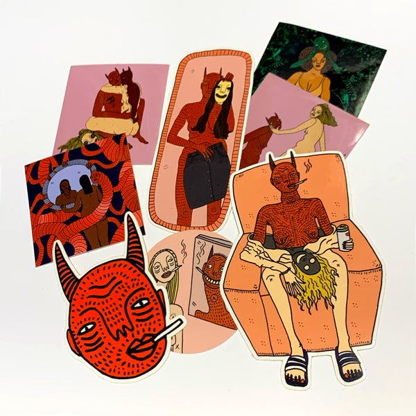 Image of Sticker Pack - by Polly Nor