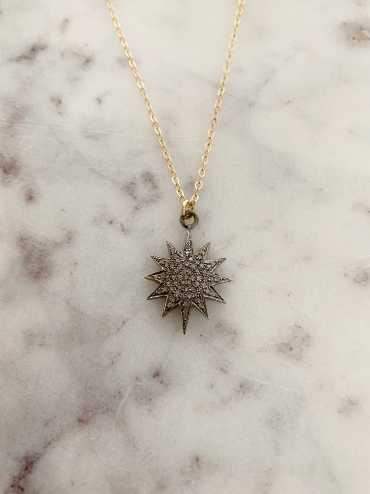 Image of Diamond Burst Necklace