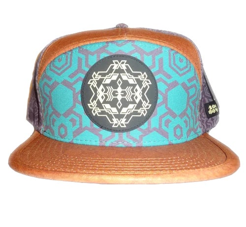 Image of NOMADIC MOVEMENT STAR MAP LIMITED EDITION SNAPBACK HAT