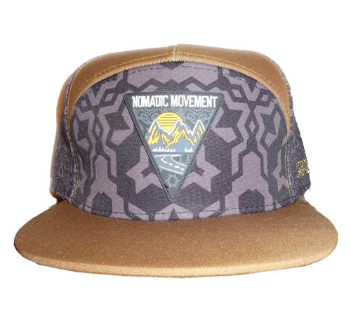Image of NOMADIC MOVEMENT TAKE A TRIP SNAPBACK HAT