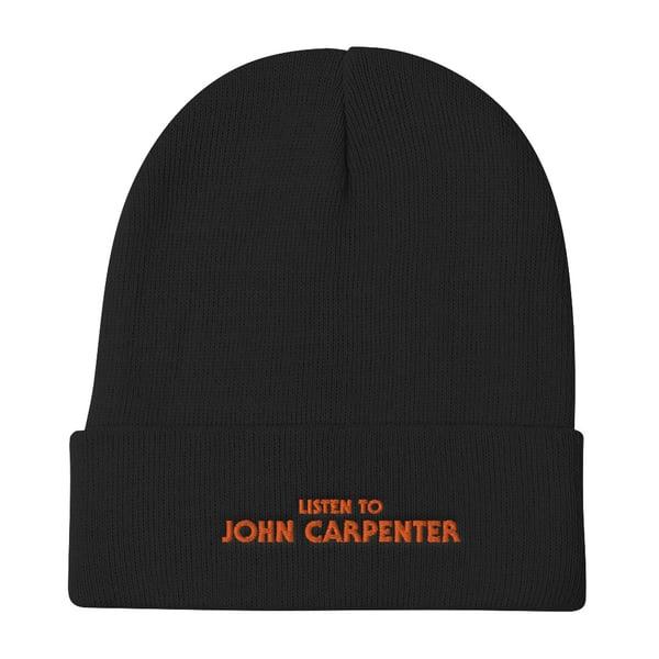 Image of LISTEN TO JOHN CARPENTER BEANIE