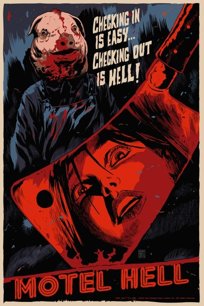 Image of Motel Hell Screen Print APs 24x36