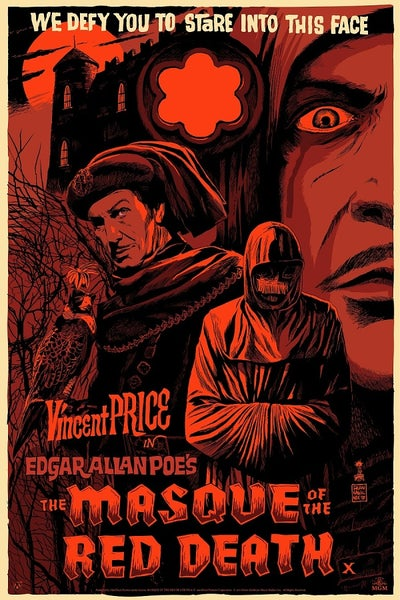 Image of Masque of the Red Death (Mad Duck) Screen Print APs 24x36 - reg edition
