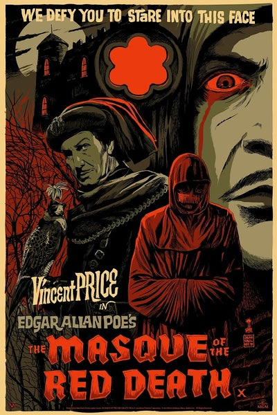Image of Masque of the Red Death (Mad Duck) Screen Print APs 24x36 - variant