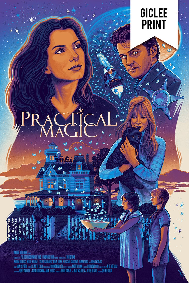 Image of PRACTICAL MAGIC - GICLÉE - LIMITED EDITION PRINT - 24x36