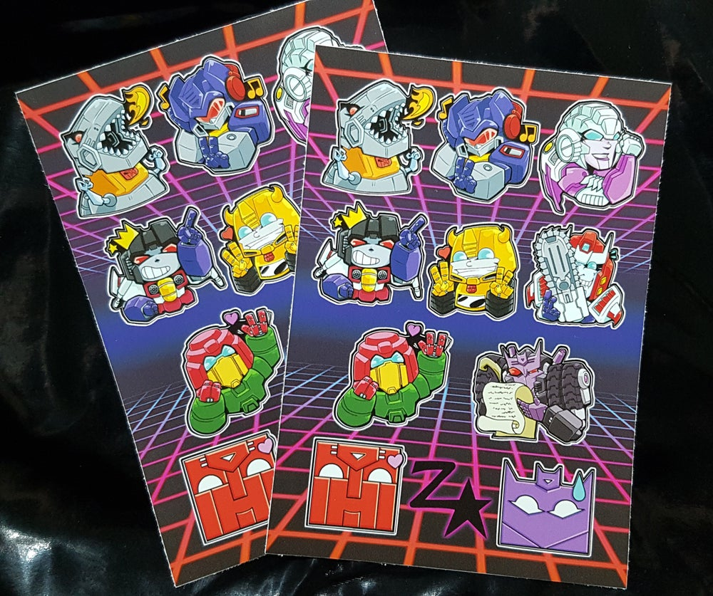 Image of A6 Sticker Sheets