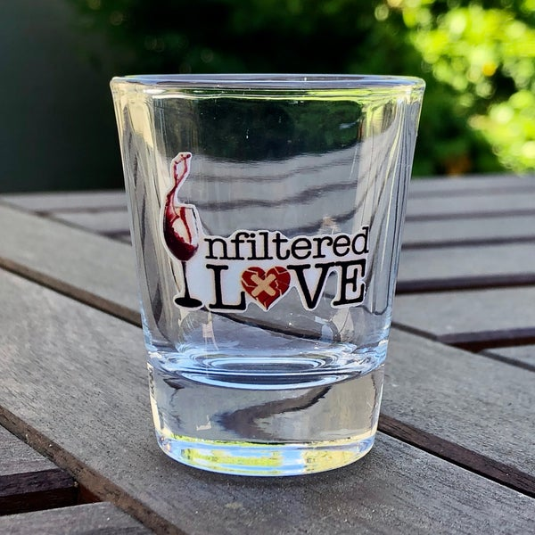 Image of Unfiltered Love Shotglass