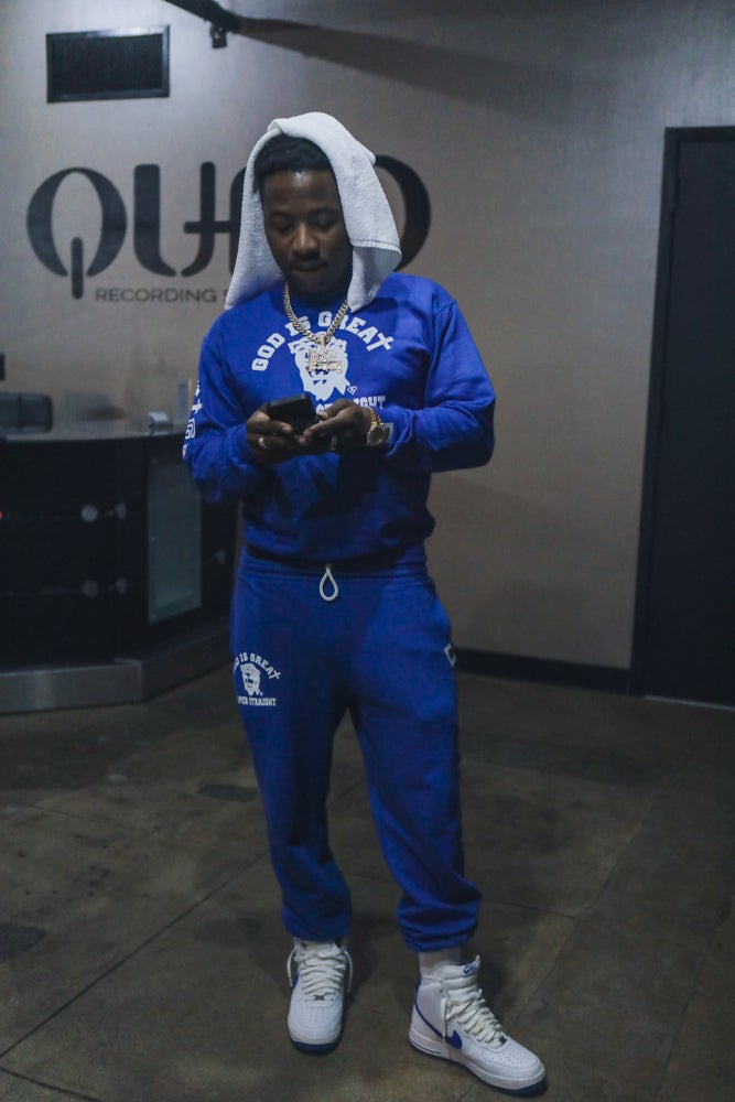 Image of GIGPS COOL BLUE SWEATSUIT