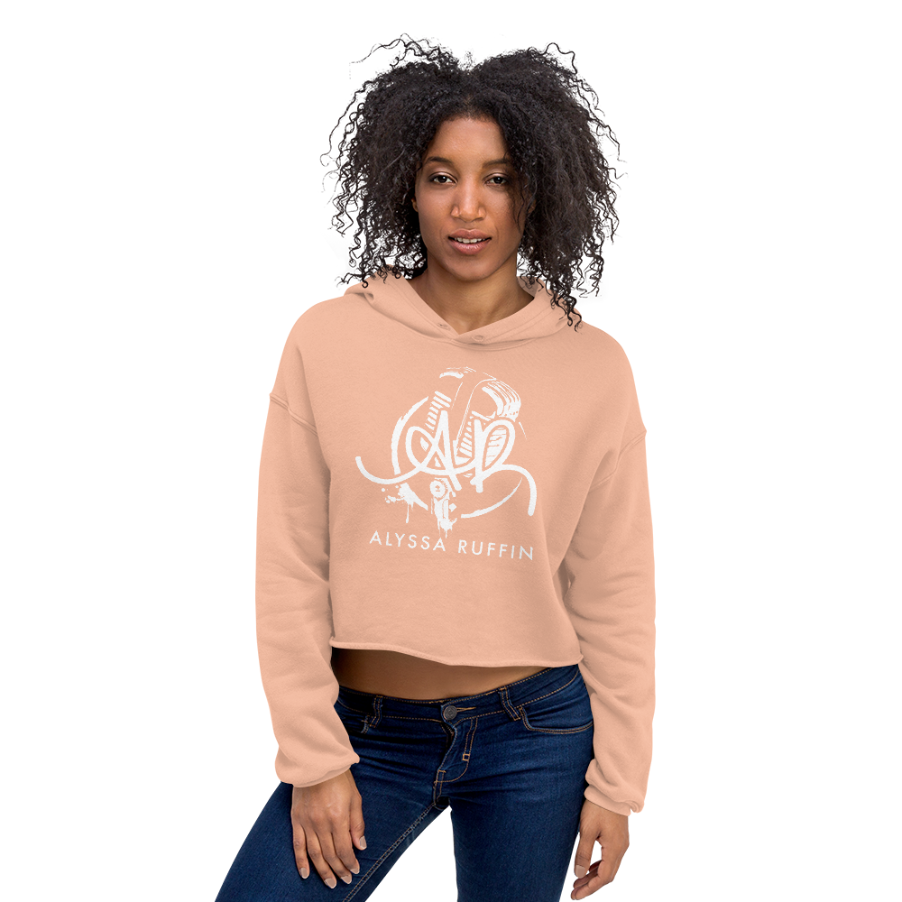 Image of Alyssa Ruffin - Women's Cropped Hoodie
