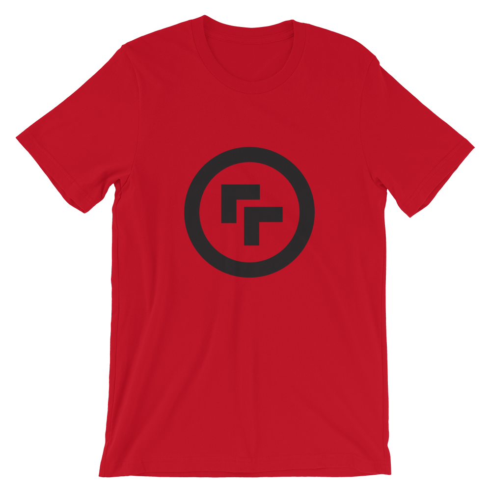 Image of Logo T-Shirt - Red with Black Logo  or Blue with Orange Logo