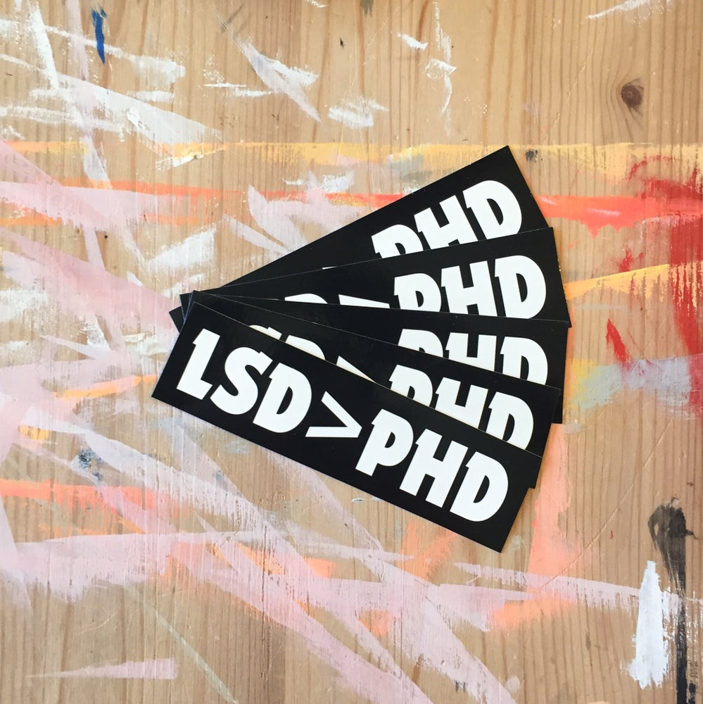 Image of LSD > PHD Stickers