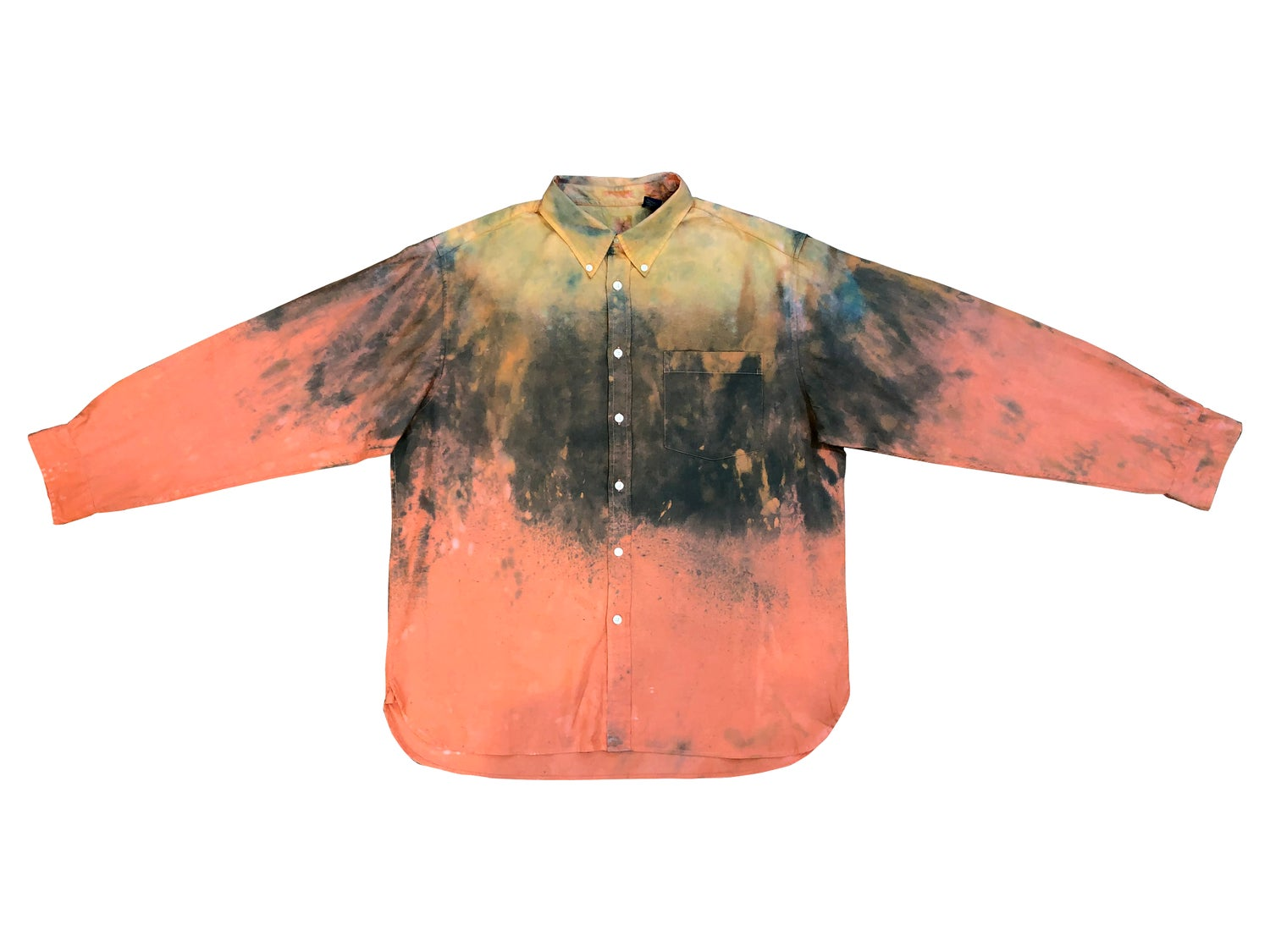Image of The Mind Combustion Button Up