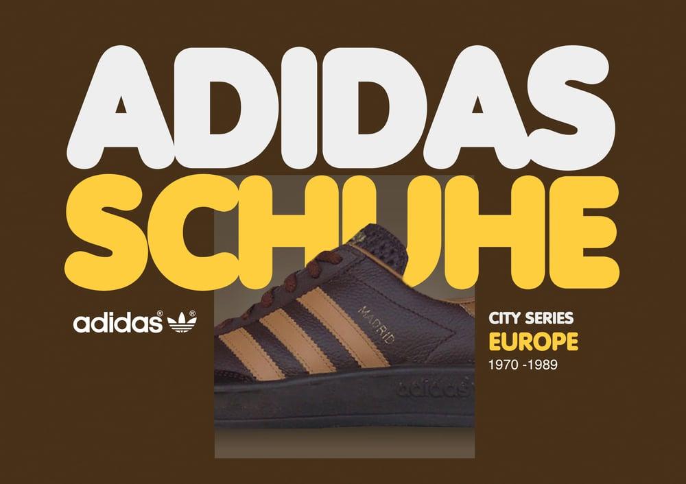 Image of Vintage Adidas Schuhe - Europe -  Book 1
