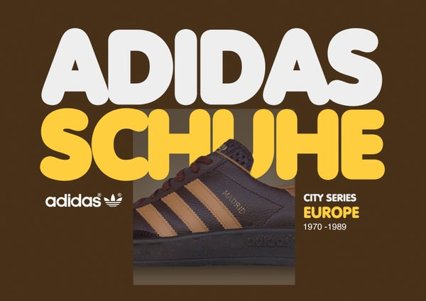 Image of Vintage Adidas Schuhe - Europe -  Book 1