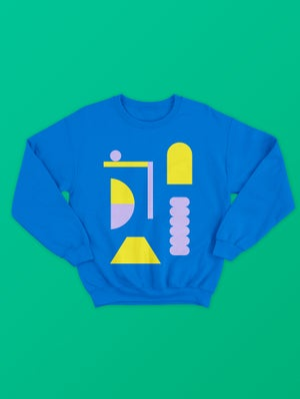 Image of Playground Sweatshirt - Blue