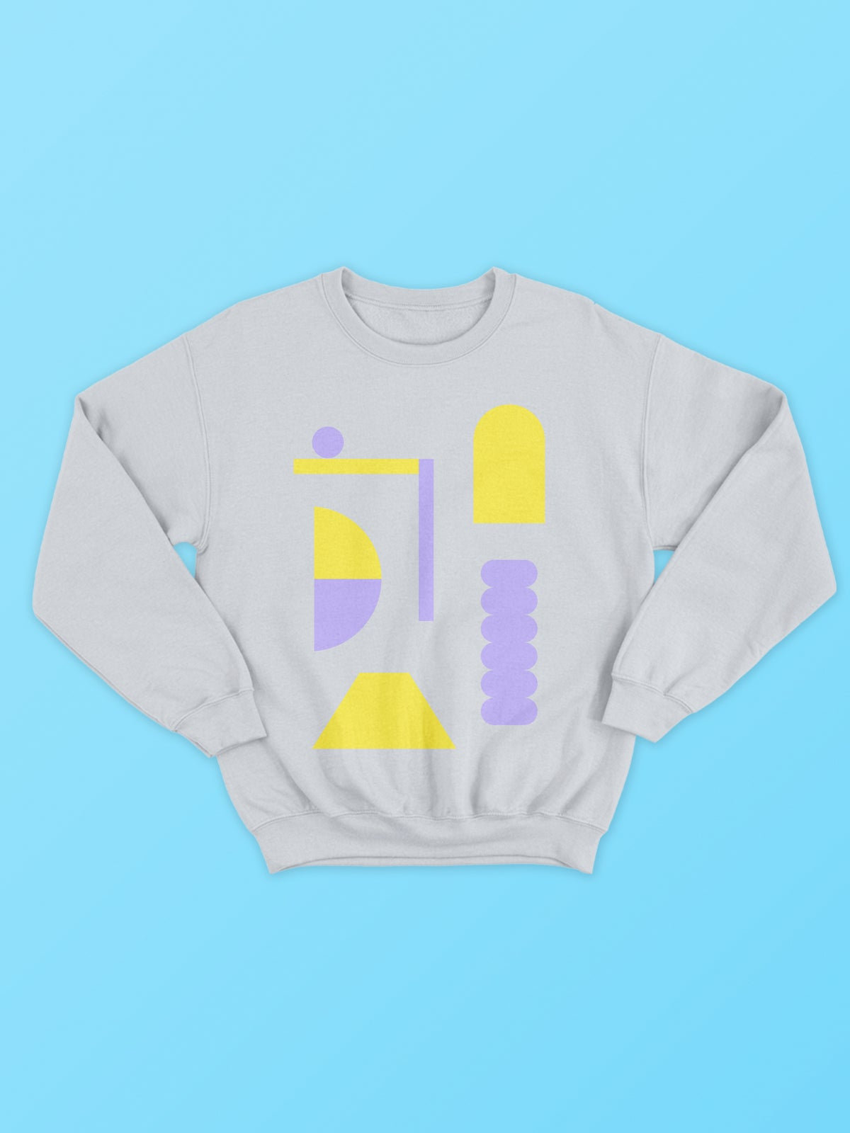 Image of Playground Sweatshirt - Grey Marl