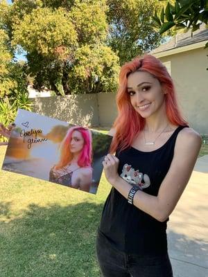 Image of Jaclyn Glenn Poster (Signed)