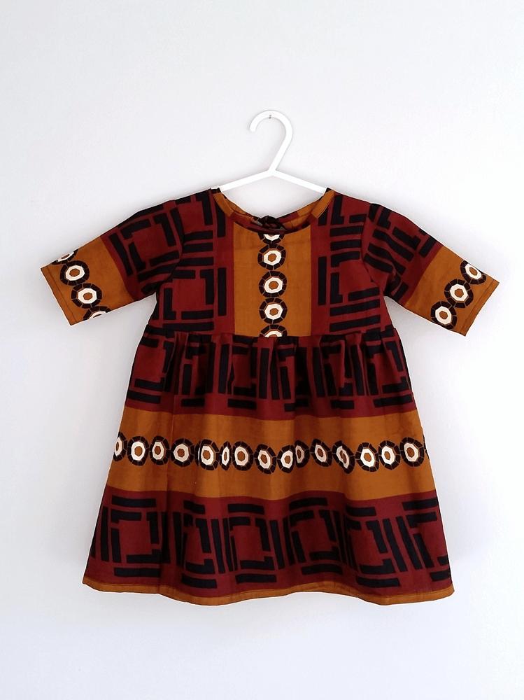 Image of Gaia Dress - Redwood