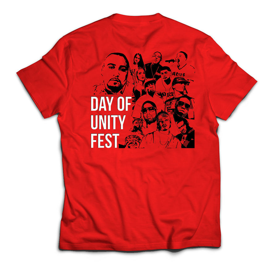 Image of DAY OF UNITY FEST TEE'S (UNISEX)