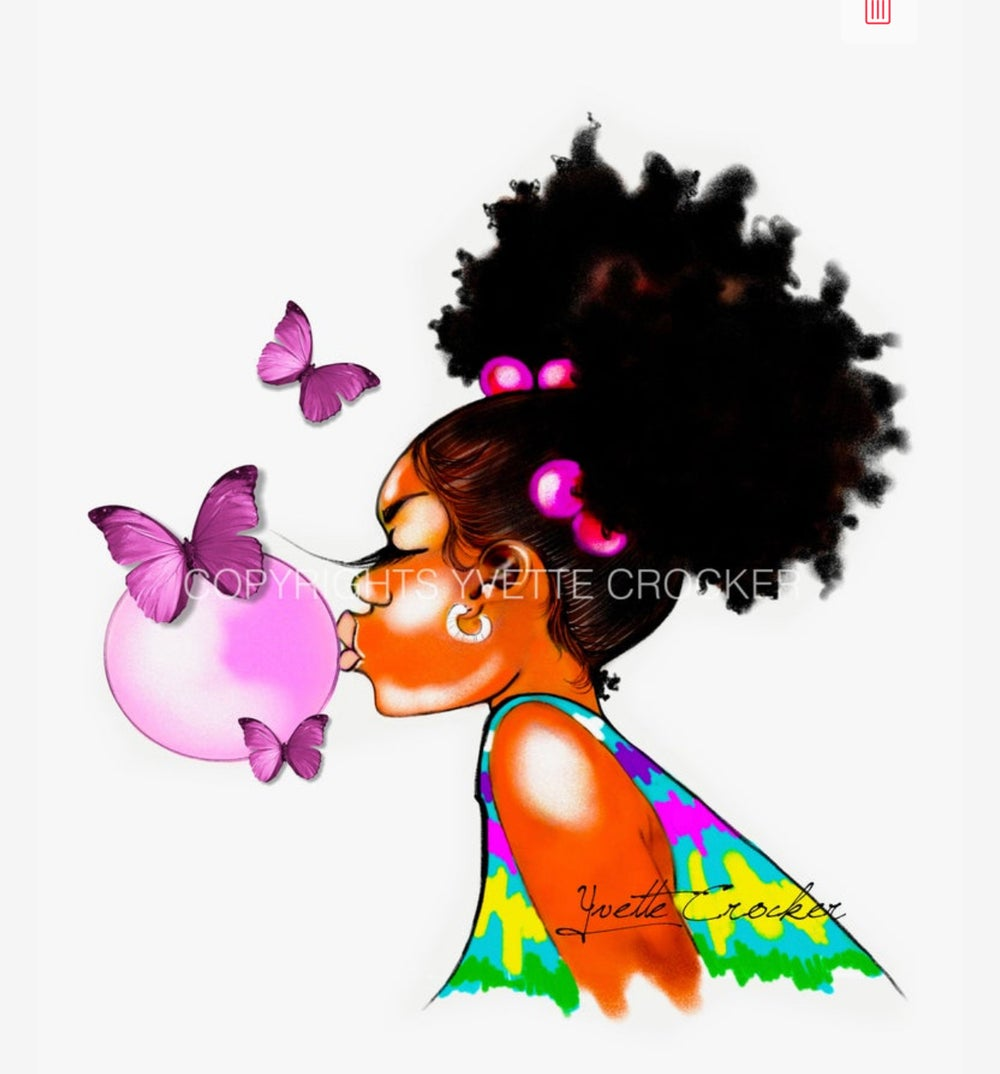 Image of Butterflies & BUBBLEGUM