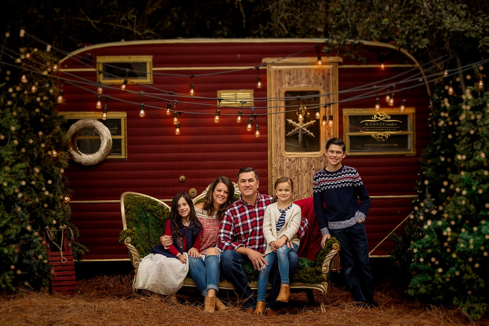 Image of 2019 Magical Vintage Christmas Camper Limited Edition Sessions