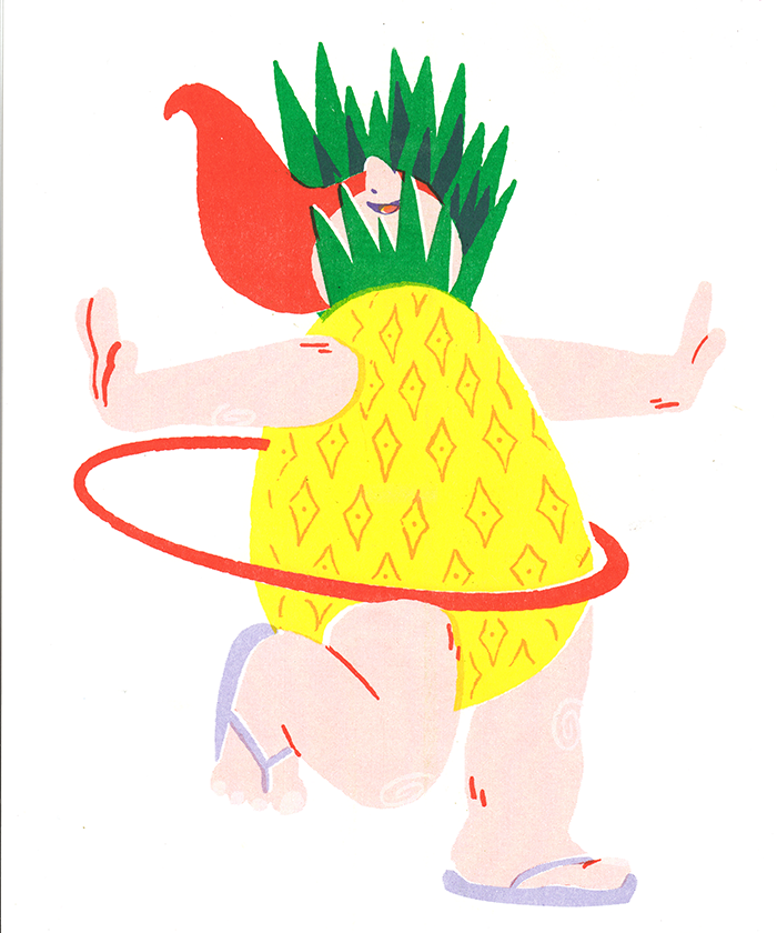 Image of Fruit Kids Riso Prints
