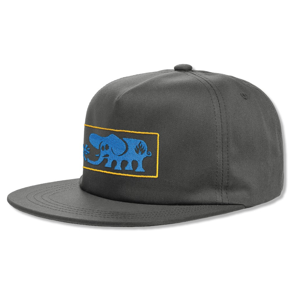 "Image of ""Elephant Frame"" Hat - Charcoal Grey"