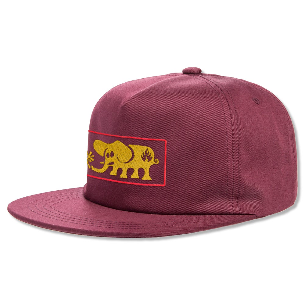 "Image of ""Elephant Frame"" Hat - Maroon"