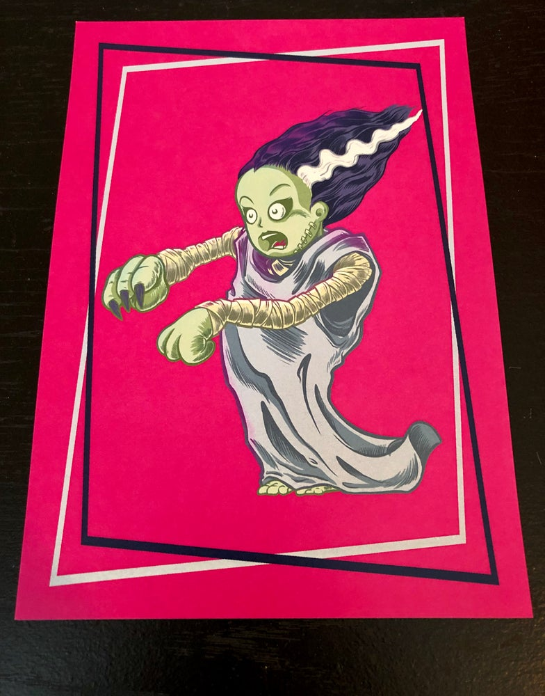Image of Monsters Unemployed Art Prints - Set of 4